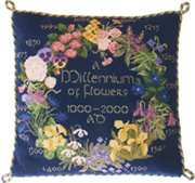 1000 YEARS of Flowers (blue)