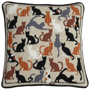 Cat's Whiskers Tapestry kit