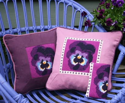 Viola Cushion and Glasses case