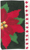 Poinsettia Glasses Case