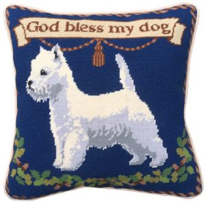 Westie 12 count Charted Tapestry