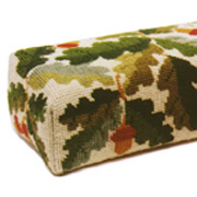 Acorns Ecru Doorstop 12 count tapestry kit