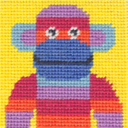 Mini Monkey starter tapestry kit
