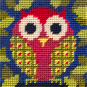 Mini Owl starter tapestry kit