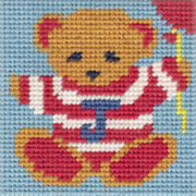 Mini Ted starter tapestry kit
